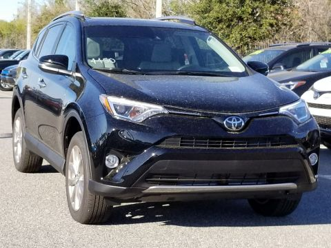 New 2018 Toyota RAV4 Limited With Navigation