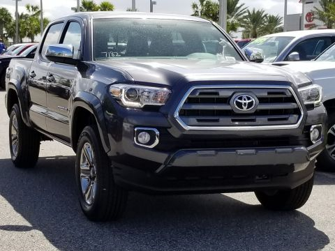 New 2017 Toyota Tacoma Limited Double Cab