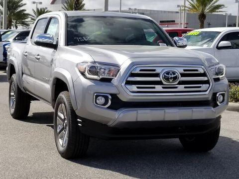 New 2018 Toyota Tacoma Limited Double Cab