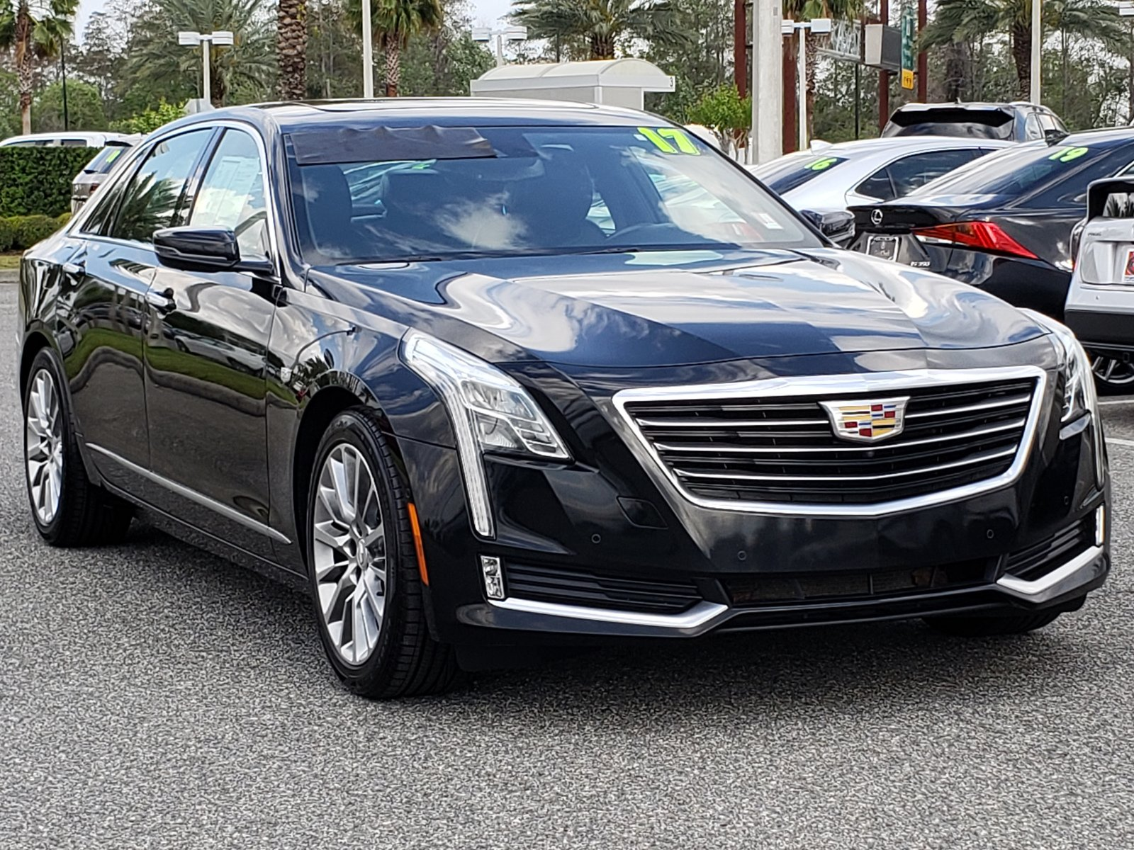 Pre-Owned 2017 Cadillac CT6 Luxury RWD