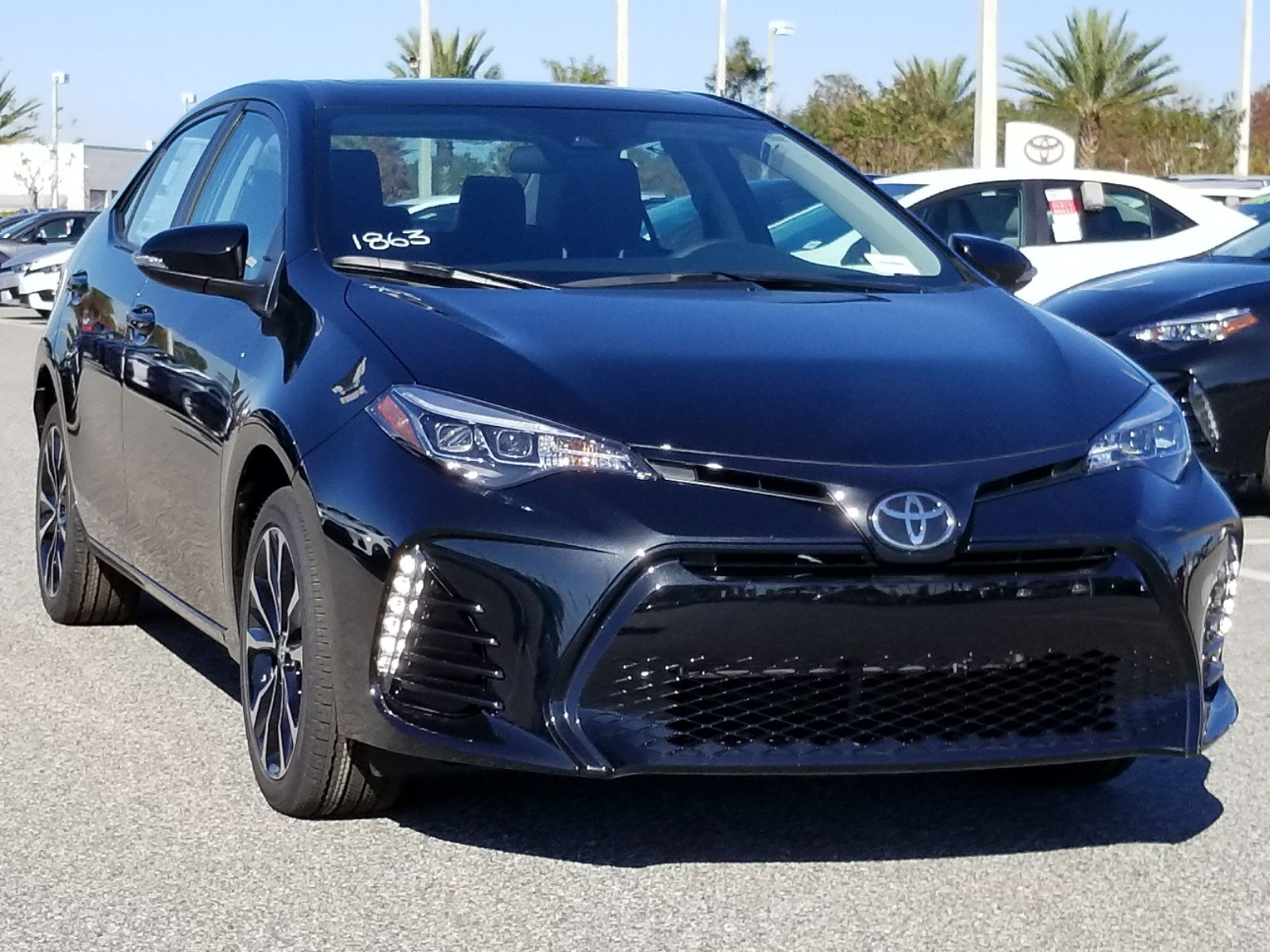 new 2018 toyota corolla se 4dr car in orlando 8180470. Black Bedroom Furniture Sets. Home Design Ideas