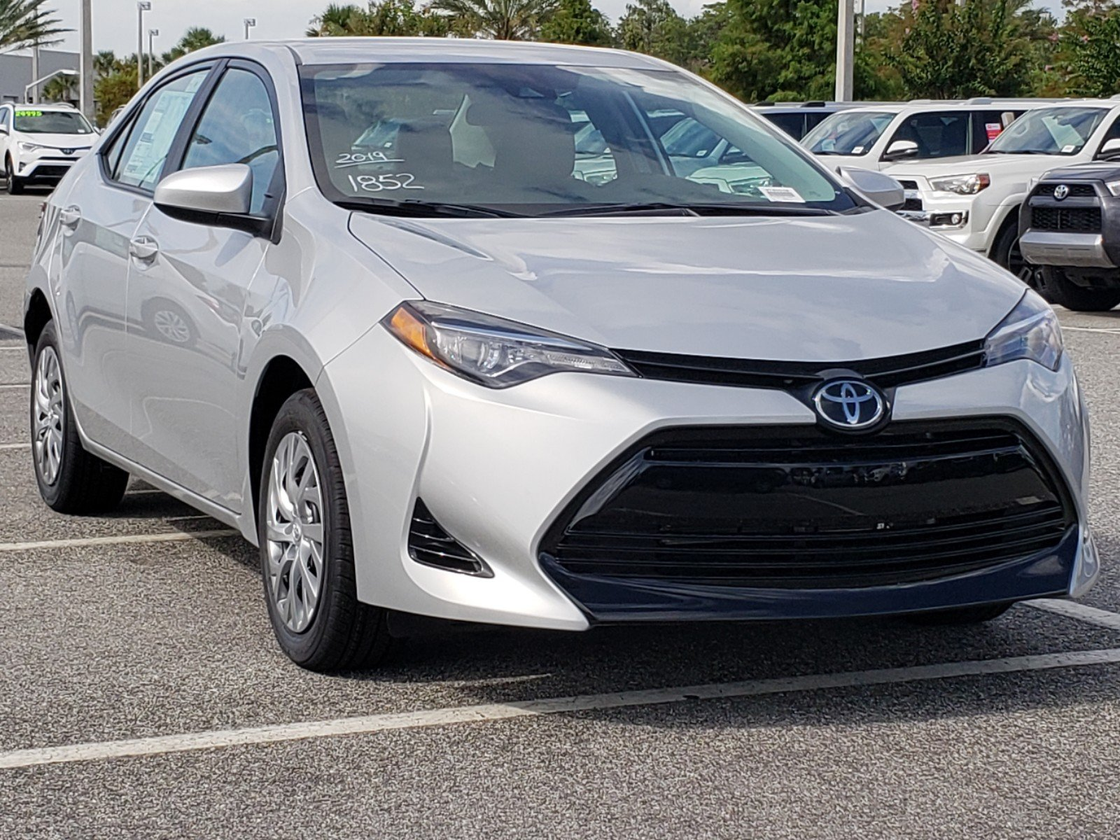 New 2019 Toyota Corolla Le 4dr Car In Orlando 9180025 Toyota Of