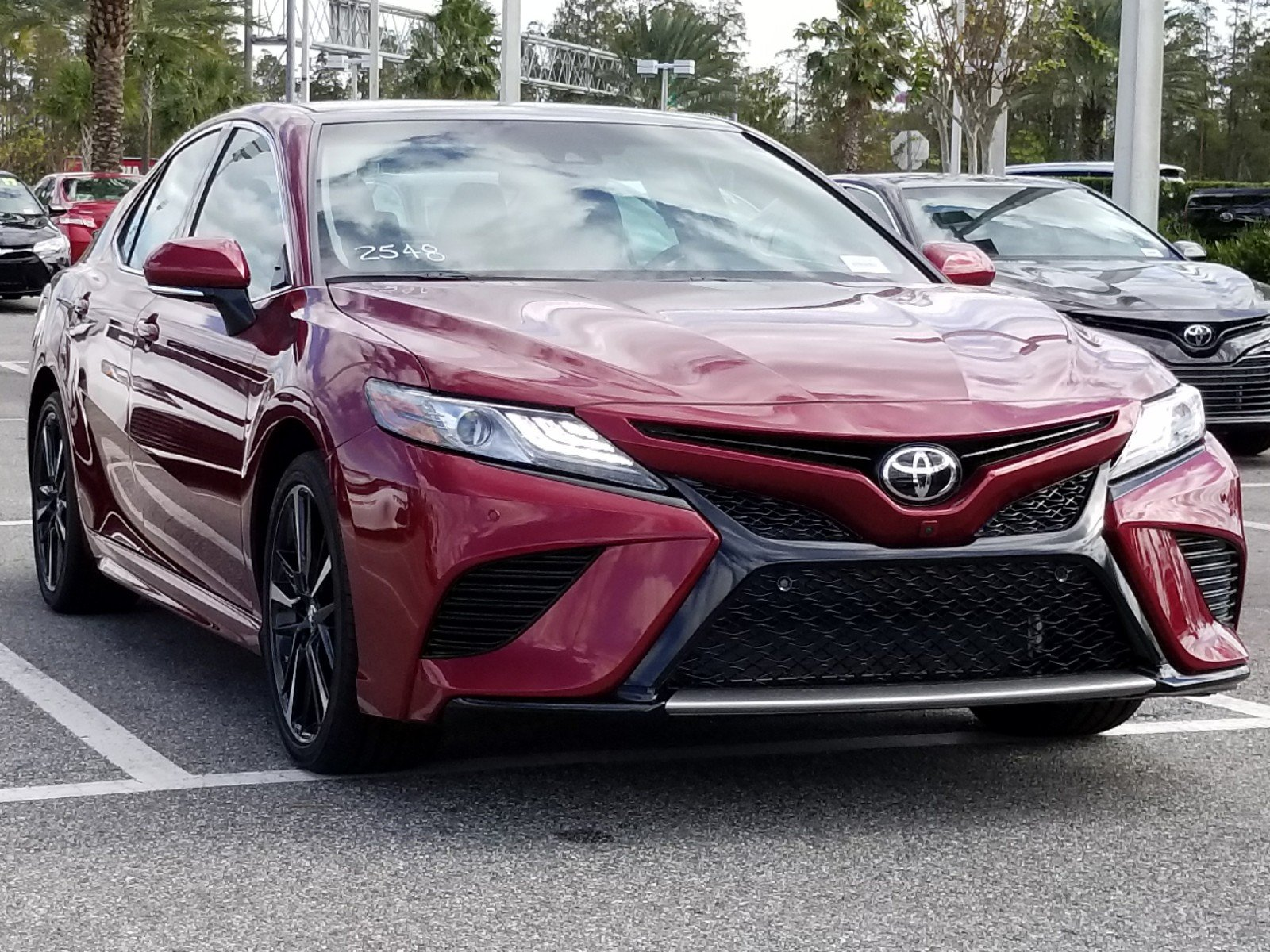 New 2018 Toyota Camry XSE 4dr Car in Orlando #8250335 ...
