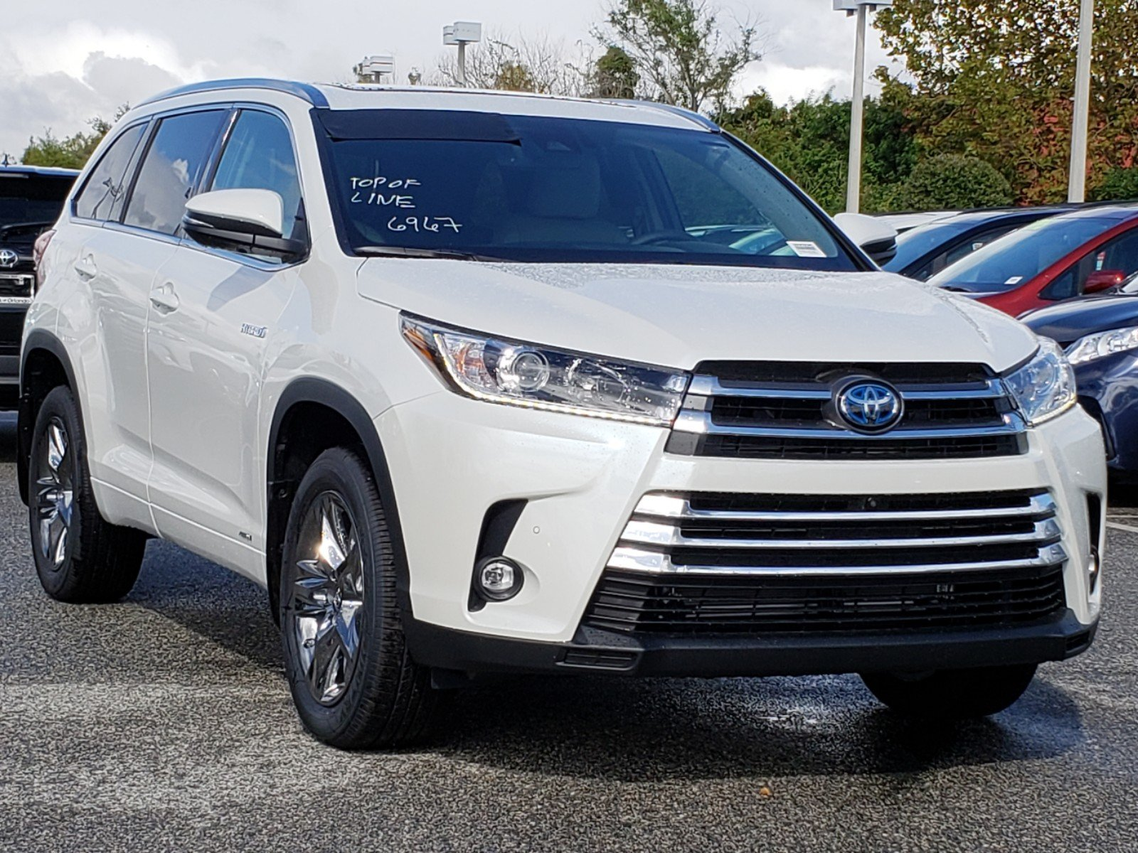 New 2019 Toyota Highlander Hybrid Limited Platinum Sport Utility In