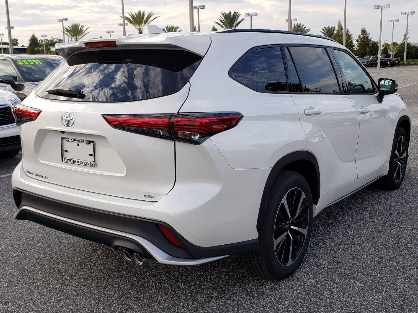 new 2021 toyota highlander xse 5 in orlando #1690016