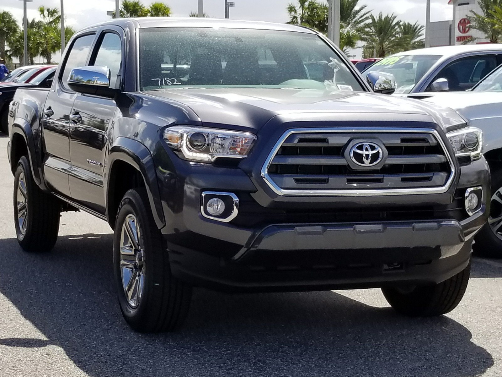 new 2017 toyota tacoma limited double cab in orlando 7710551 toyota of orlando. Black Bedroom Furniture Sets. Home Design Ideas