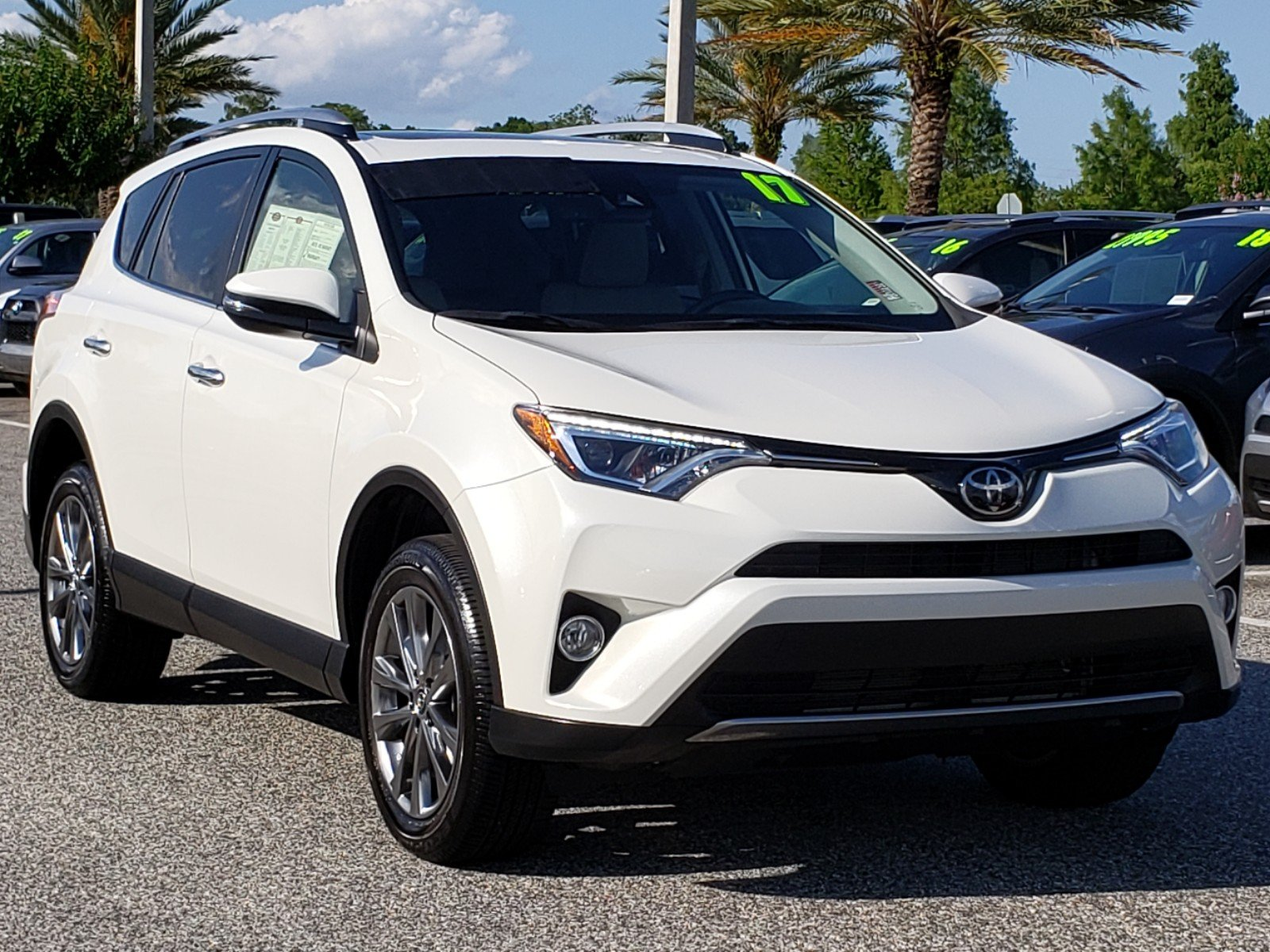 Certified Pre Owned 2017 Toyota Rav4 Limited