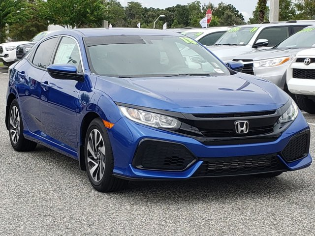 Pre-Owned 2018 Honda Civic Hatchback LX