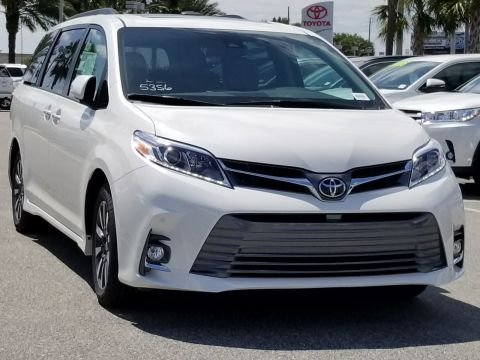 New 2018 Toyota Sienna Limited